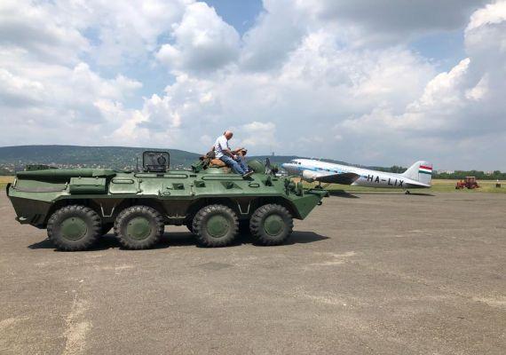 BTR 80 vezetése, Budaörs