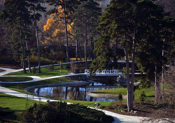 Festetics-kastély parkja, Keszthely